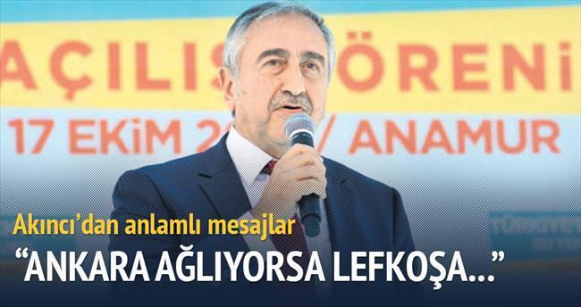 'Ankara ağlıyorsa Lefkoşa gülemez'
