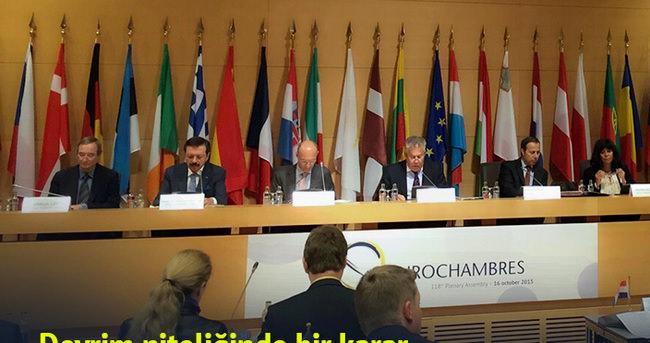 TOBB, EUROCHAMBRES'ın daimi başkan vekilliğine seçildi