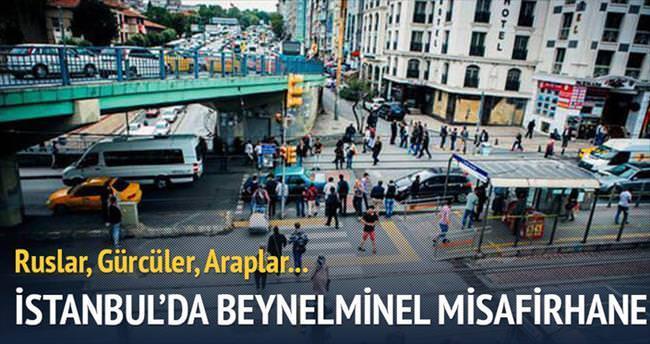 İstanbul'da beynelmilel misafirhane