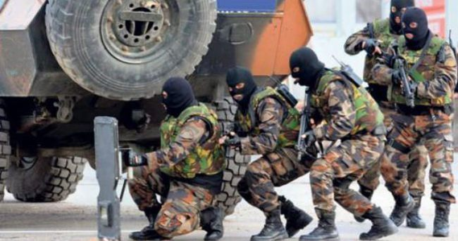 Cizre'de kalabalık PKK'lı grup tespit edildi, operasyon başladı