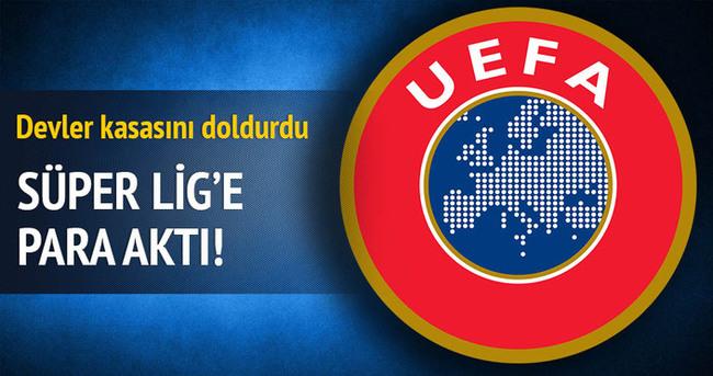 Süper Lig'e para aktı