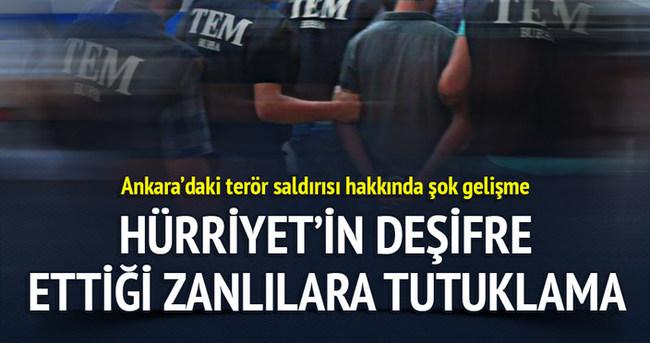 Ankara'daki saldırıyla ilgili flaş gelişme