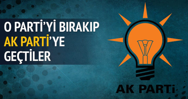 MHP'de deprem! 100 kişi ile AK Parti'ye geçti