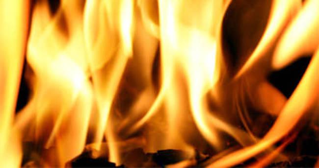 Aydın'daki fabrika yangını