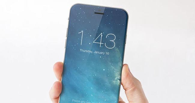 Apple Watch arayüzüne sahip iPhone 7
