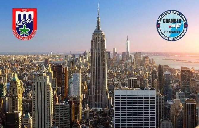 Aydın Ve New York Ticaret Odaları Kardeş Oda Oldular