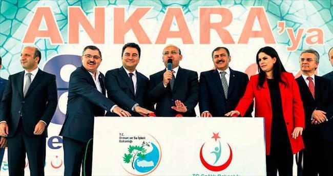 Başkent yeniden 'AK Parti' diyor