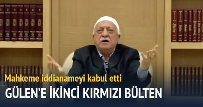 Fetullah Gülen'e ikinci kırmızı bülten