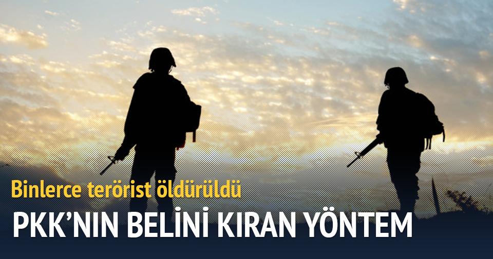 PKK'ya ağır darbe! Operasyonlar devam ediyor...