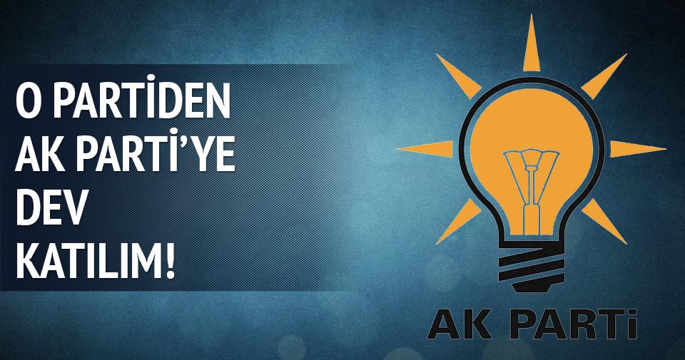 MHP'den 150 kişi AK Parti'ye geçti