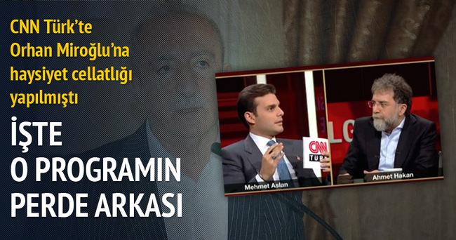 İşte CNN Türk ekranlarında yapılan haysiyet cellatlığının perde arkası