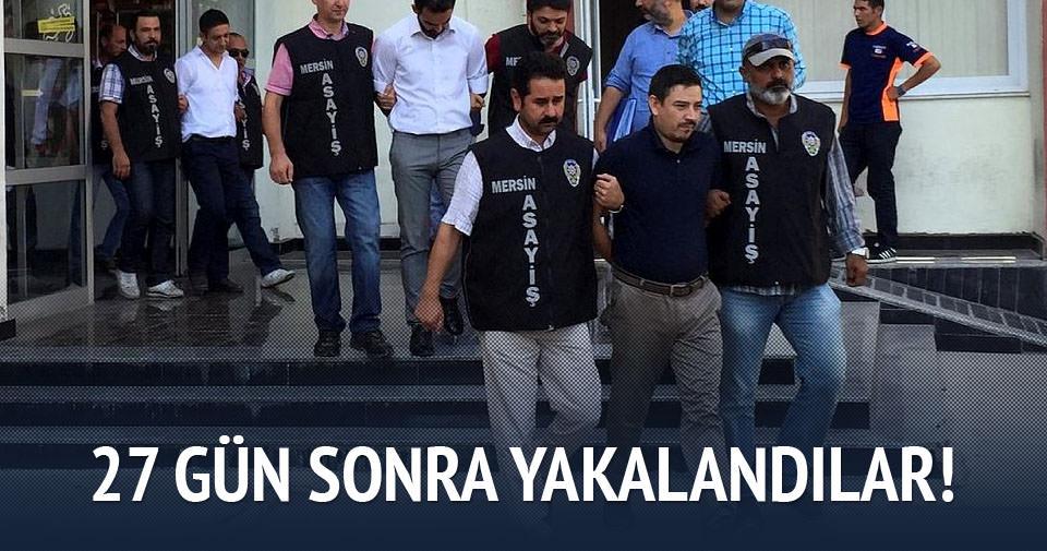 Soygun yapan banka personelleri yakalandı