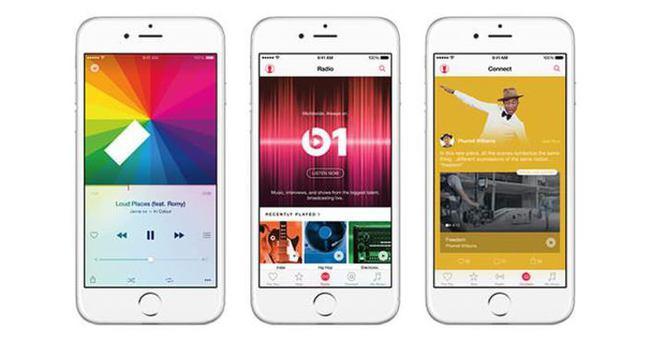 Apple Music 15 milyon kullanıcıya ulaştı