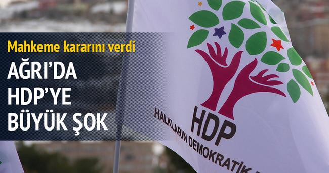 Ağrı'da HDP'ye büyük şok!