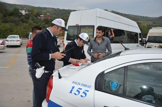 Niksar'da Öğrenci Servislerine Sıkı Denetim