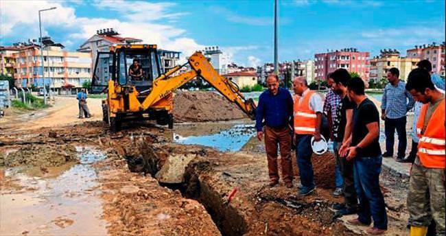Manavgat'ın altyapısında köklü değişime gidiliyor