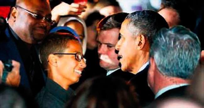 Ahmed Muhammed Obama ile görüştü