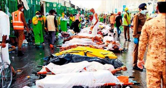 AP: Mina'daki izdihamda ölenlerin sayısı 2 bin 177