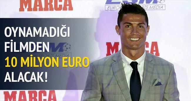 Oynamadığı filmden 10 milyon Euro alacak