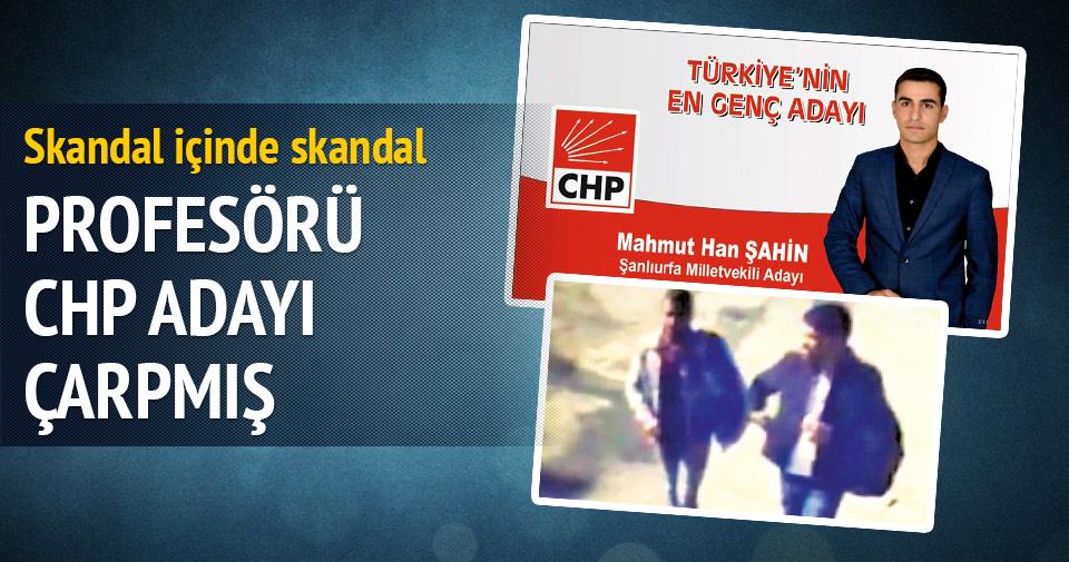 Ceza hukukçusunu CHP'li aday çarpmış