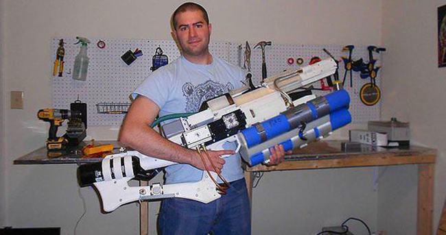 3D yazıcıyla üretilen 9 kilogramlık dev silah