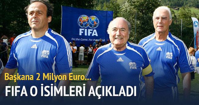 FIFA, soruşturduğu 11 kişiyi açıkladı