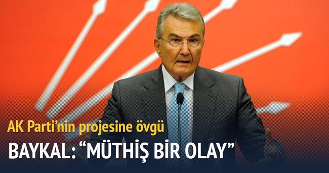 Baykal'dan AK Parti'nin projesine övgü