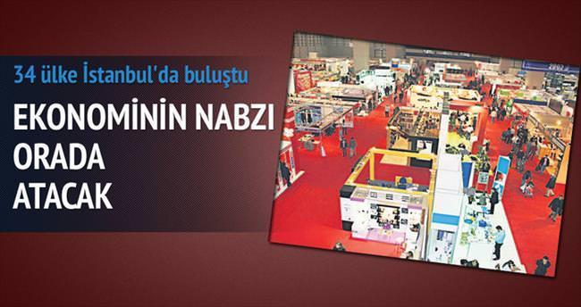 34 ülke alım için İstanbul'a geldi