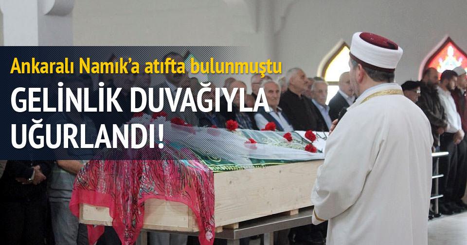 İstanbul'da intihar eden Melike Zonguldak'ta toprağa verildi