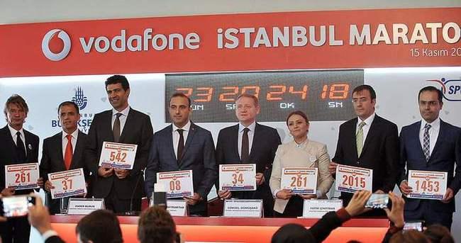 37. Vodafone İstanbul Maratonu tanıtıldı