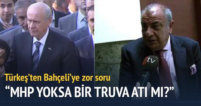 Tuğrul Türkeş: MHP bir truva atı mı?