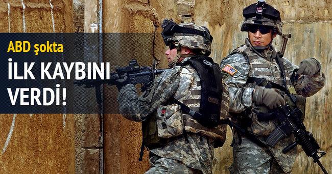 ABD ordusu DAEŞ ile mücadelede ilk kaybını verdi