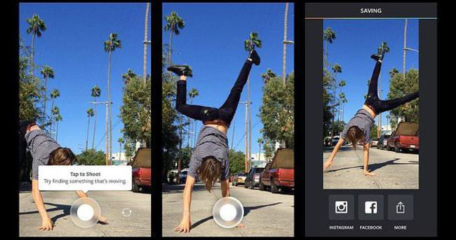 Instagram'dan 1 saniyelik video uygulaması