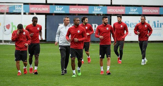 Galatasaray derbi hazırlıklarını sürdürdü