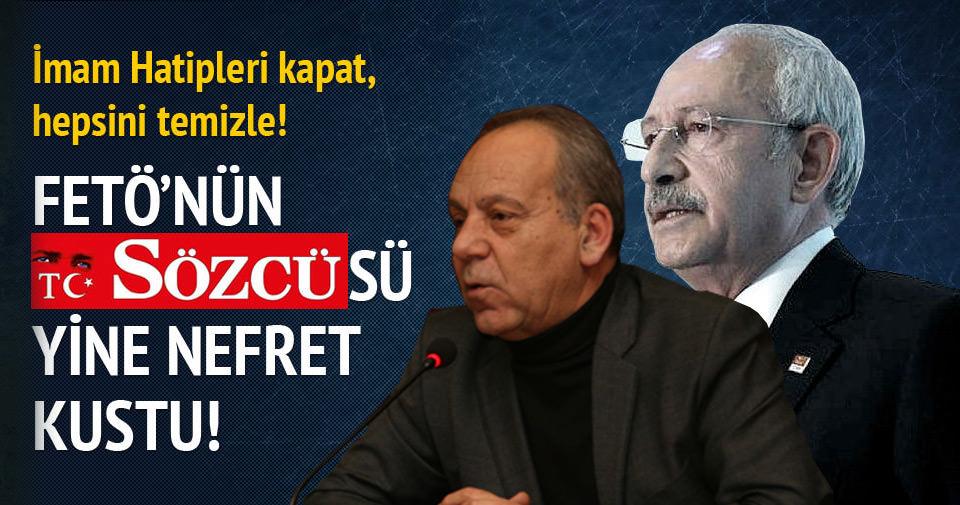 Sözcü yazarından Kılıçdaroğlu'na eleştiri
