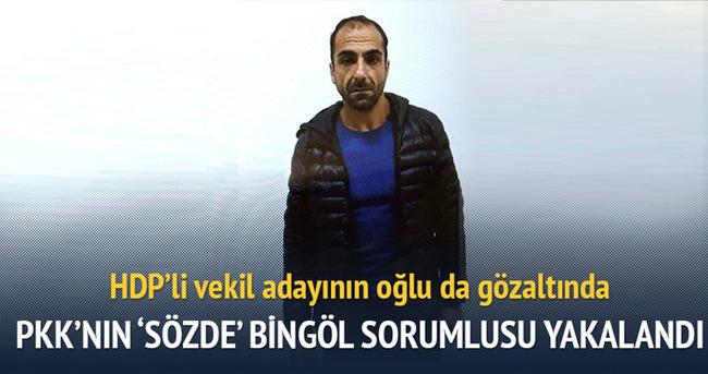 PKK'nın 'sözde' Bingöl sorumlusu yakalandı