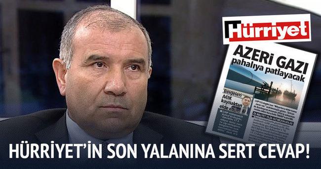 Hürriyet'in son yalanına sert cevap!