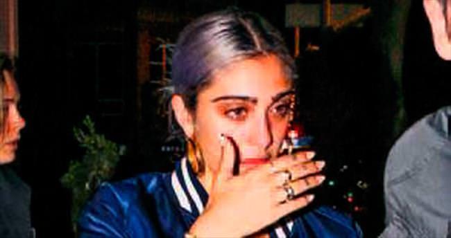 Madonna değil kızı!