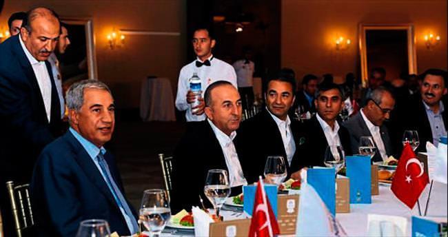 Çavuşoğlu'dan 2T buluşmaları