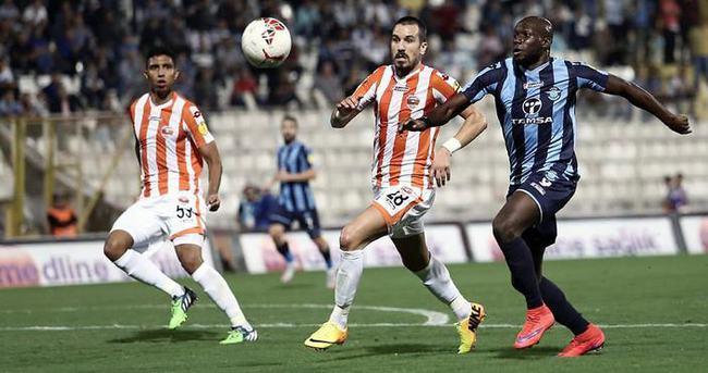 Adana derbisinin galibi Adana Demirspor