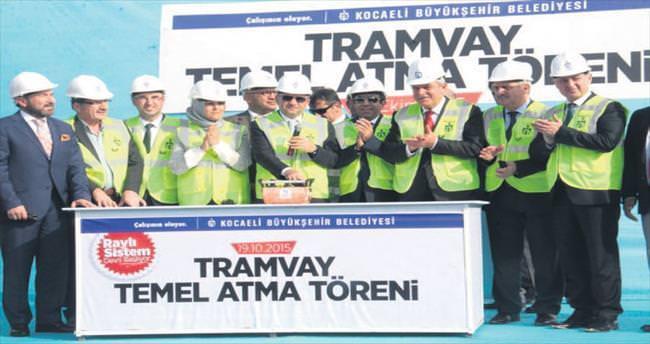 Kocaeli tramvayı için 114 milyonluk yatırım