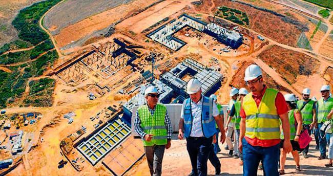 Adana BTÜ kampusu inşaatı hızla ilerliyor
