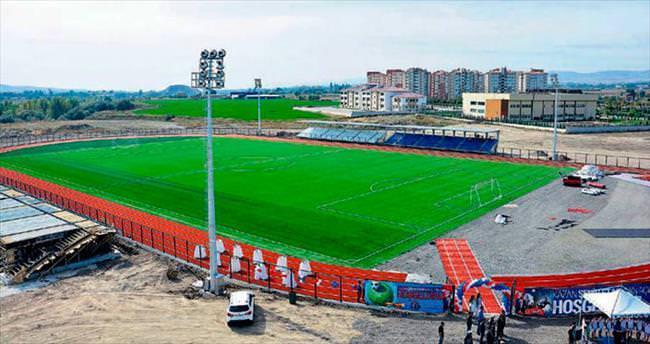 Kazan'a bir futbol sahası daha