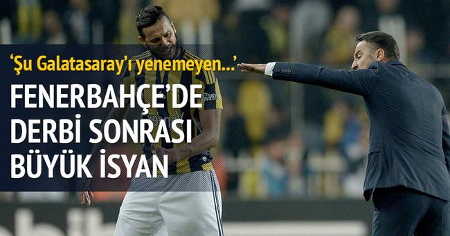 Fenerbahçe'de derbi sonrası büyük isyan!