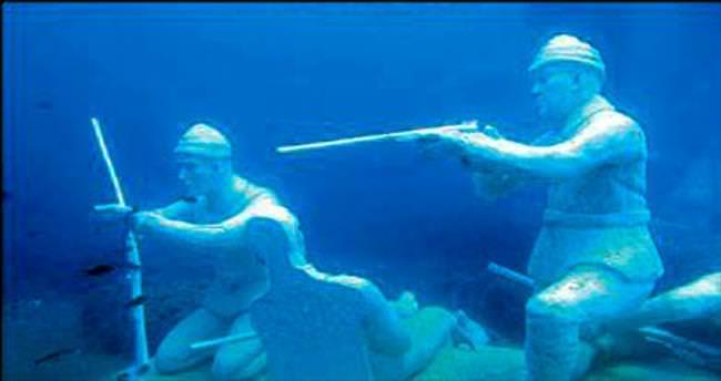 Su altında canlı yayın yapılacak