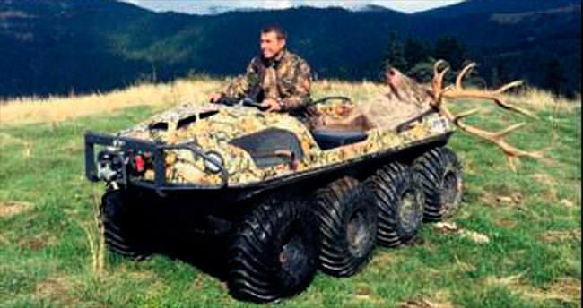 8 tekerlekli 'Argo' avcıların hizmetinde