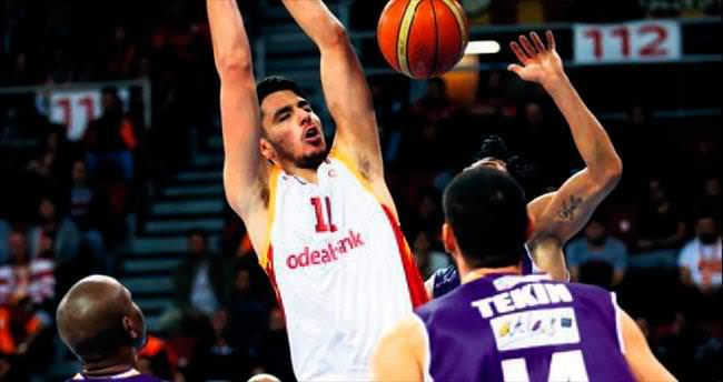 Galatasaray'a tek devre yetti
