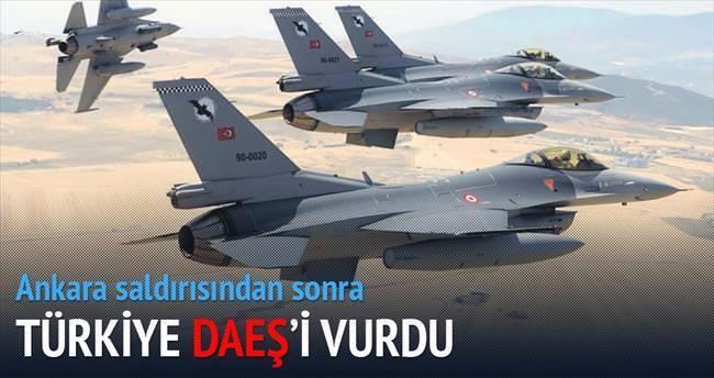 Türkiye DAEŞ'i vurdu