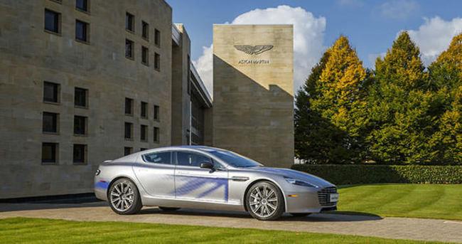 Aston Martin konsept elektrikli otomobilini gösterdi