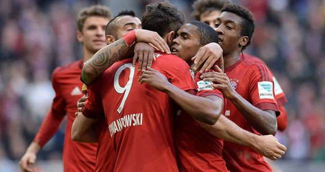 Bayern Münih galibiyet serisini geliştirdi
